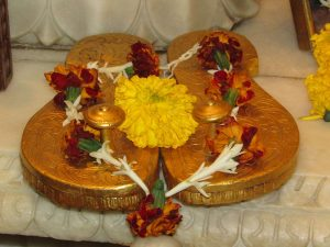 Paduka puja is often performed for Guru Purnima 2016