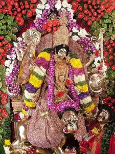 Katyayani - NavaDurga worshiped on the sixth night of Navratri