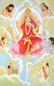 Siddhidhatri is the NavaDurga worshiped on the ninth night of Navratri