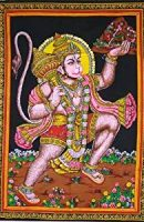 Hanuman tapestry