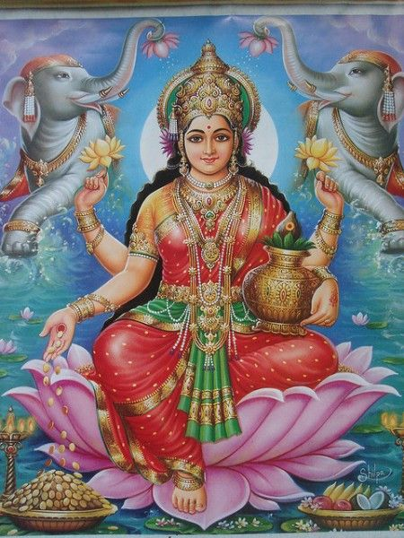 Worship Lakshmi during Venus exalted in Pisces 2019