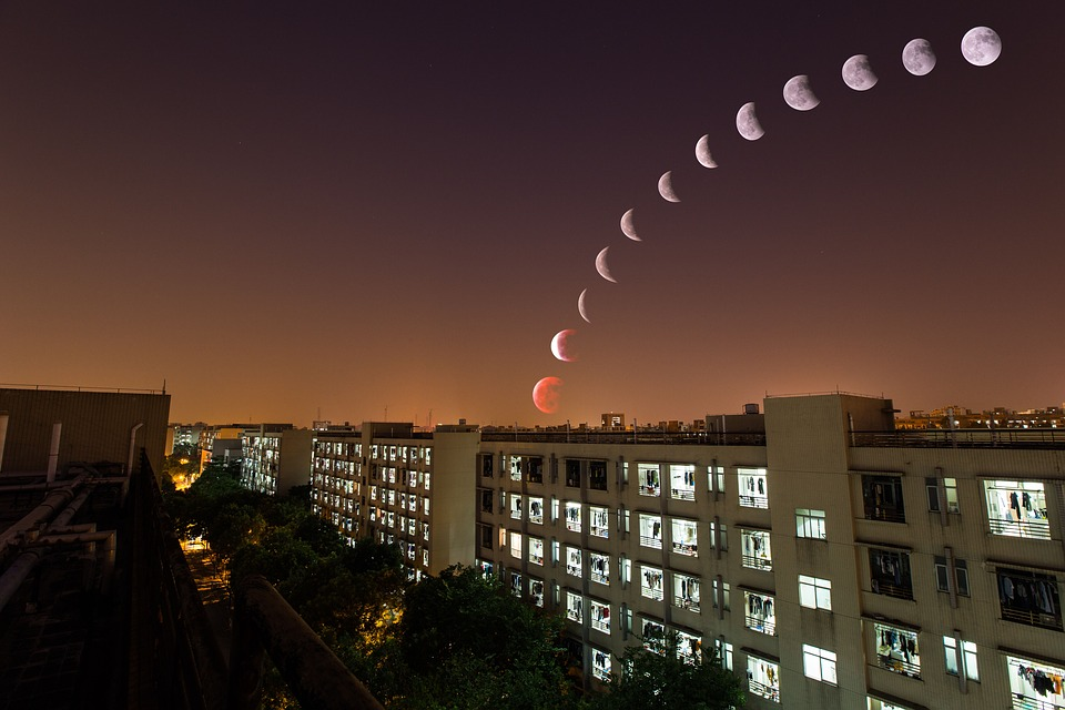 July 16, 2019 lunar eclipse